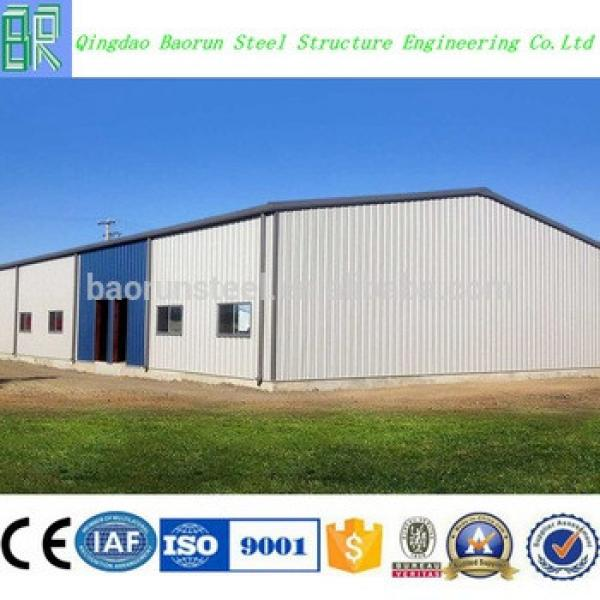 China prefabricated steel structure agricultural warehouse price #1 image
