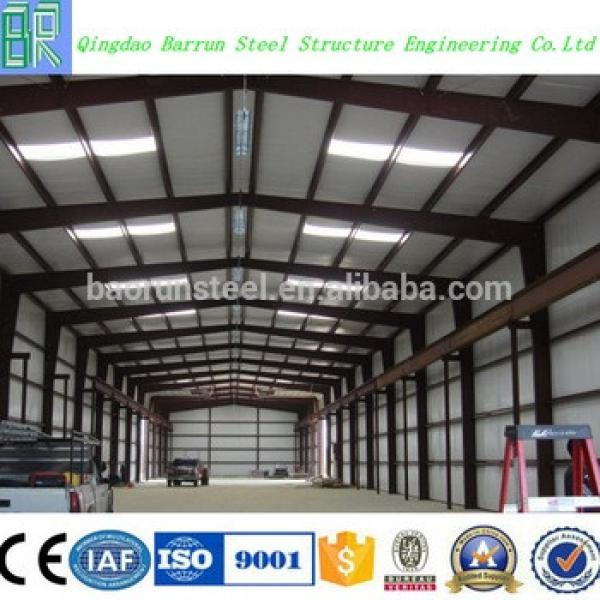 Baorun 2016 prefabricated steel structure warehouse #1 image