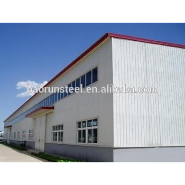 Prefabricated Light Steel structure warehouse, carport, workshop made in china with low price #1 image