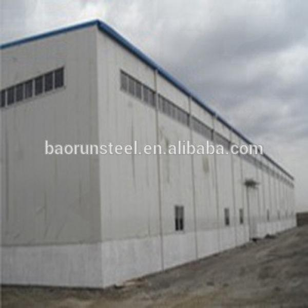 Prefabricated steel building construction sheds car showroom steel structure truss purlin #1 image