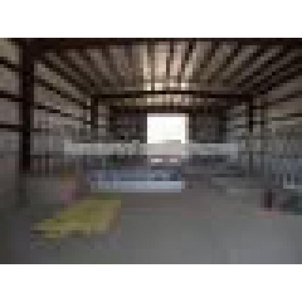 prefabricated steel frame warehouse light steel structure #1 image