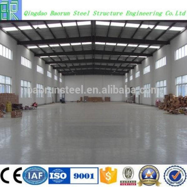 Cheap prefab light steel structure chinese warehouse #1 image