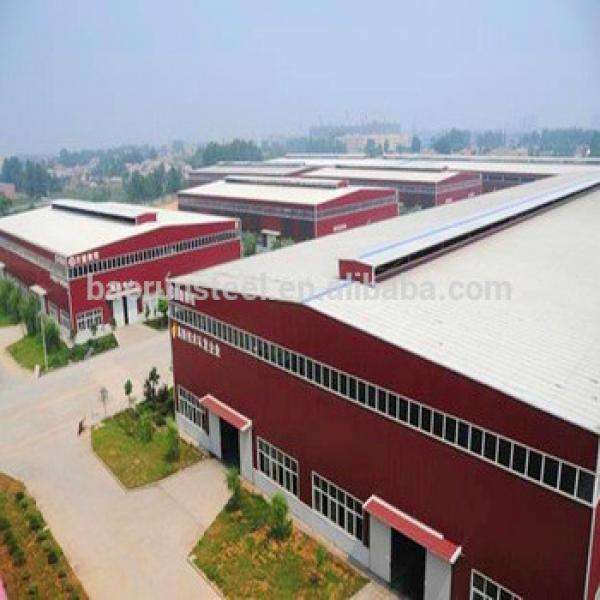 Economy buildings of steel structure factory shed #1 image