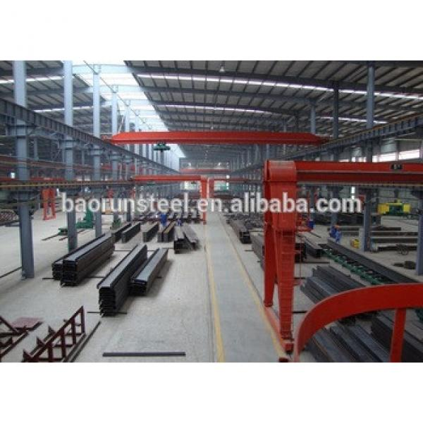 China qualified prefab house made by steel structure and sandwich panel for office warehouse factory dorm workshop #1 image