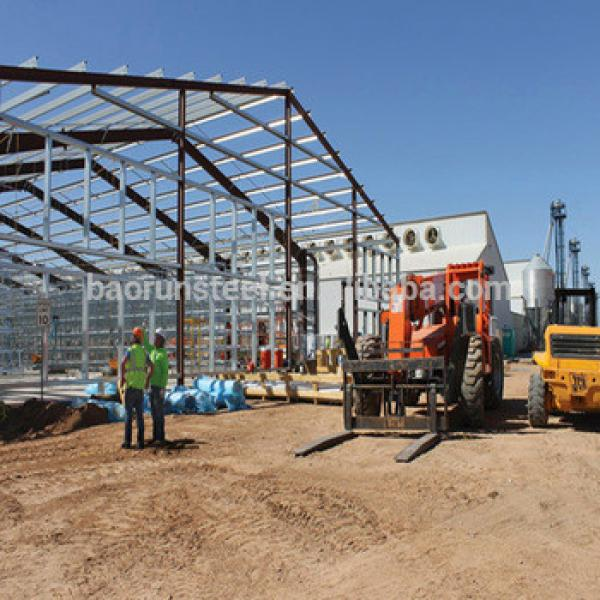 Low cost steel poultry shed #1 image