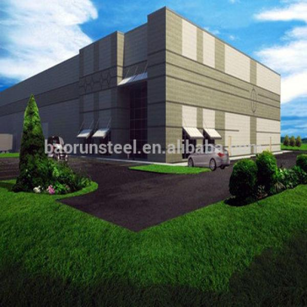 Cheap Prefabricated Low Cost Prefab Warehouse Shed #1 image