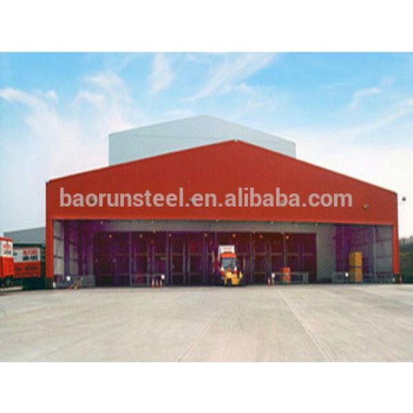 Low Cost Steel Structure Warehouse Storage Tent #1 image