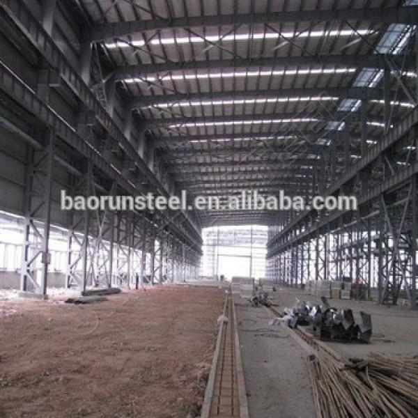 Prefabricated Hot galvanized Steel Structures workshop/warehouse #1 image
