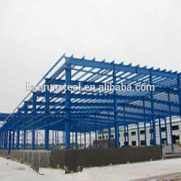 Fashion Design prefabricated steel structure warehouse #1 image