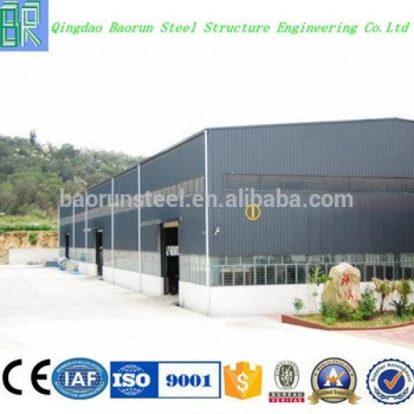 Prefabricated steel structure warehouse in europe #1 image