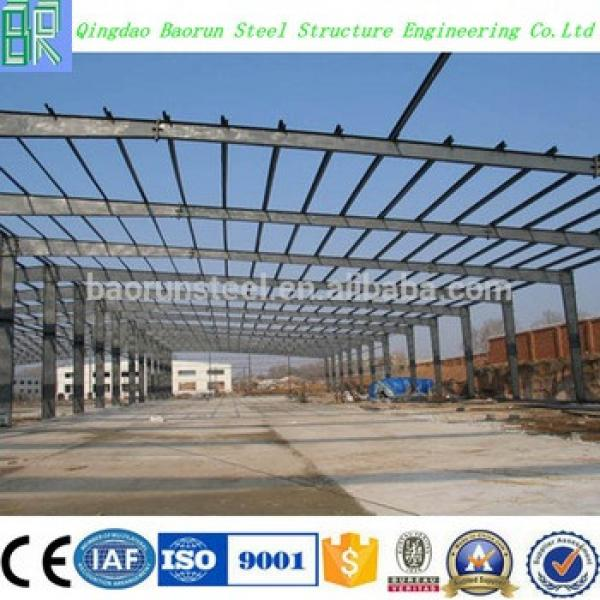 Light pre fabricated steel structure warehouse #1 image