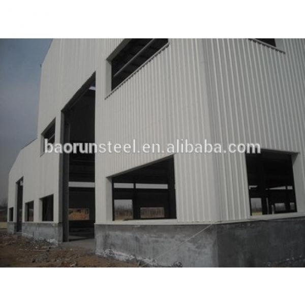 Certificated steel structure prefabricated warehouse #1 image