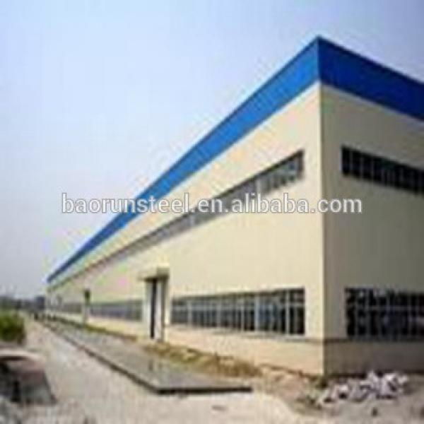 Long warranty pre made steel frame industrial workshop / plant / warehouse #1 image