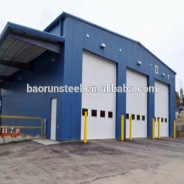 Prefabricated Steel Structure Warehouse Metal Construction Building Products #1 image
