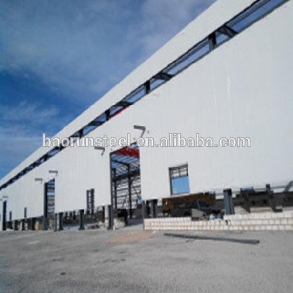 Prefabricated steel frame warehouse, steel warehouse,prefab houses #1 image