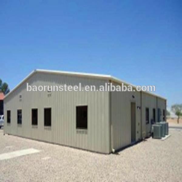 High Quality Q235 Q345B prefabricated light steel structure building #1 image