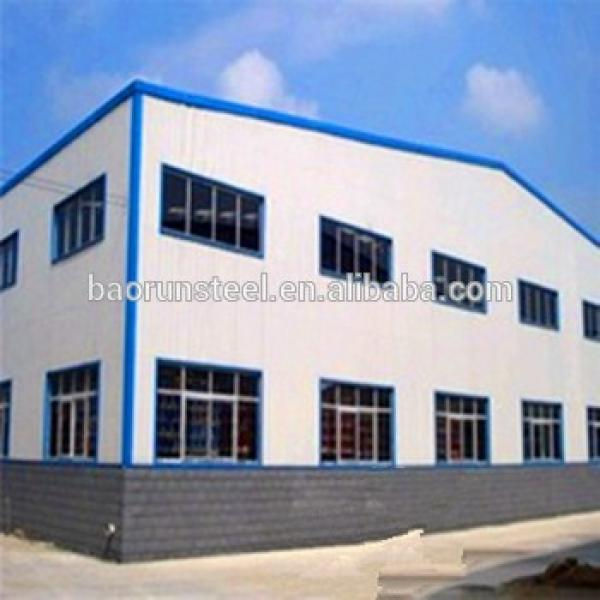 China cheap light prefabricated steel frame warehouse for sale #1 image