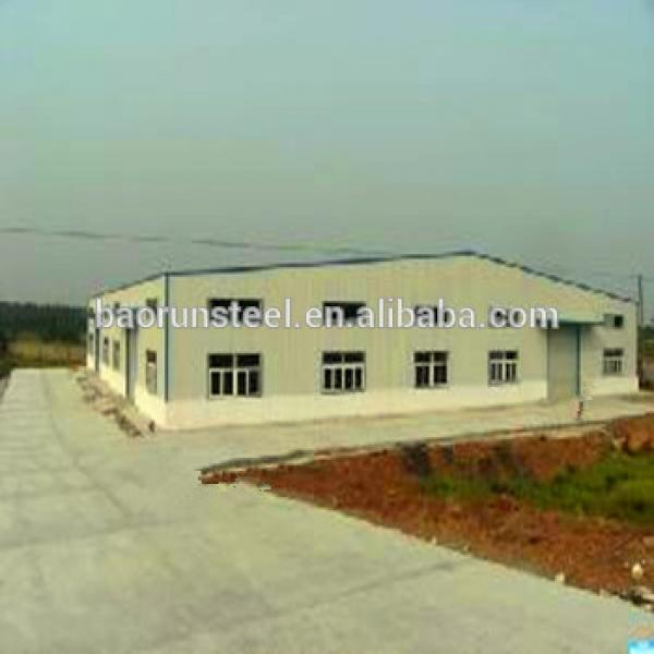 50x20 meters Insulated qingdao steel structure warehouse #1 image
