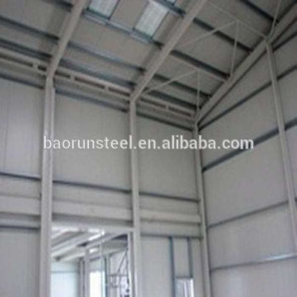 Steel structure prefabricated steel structure aircraft hangar #1 image
