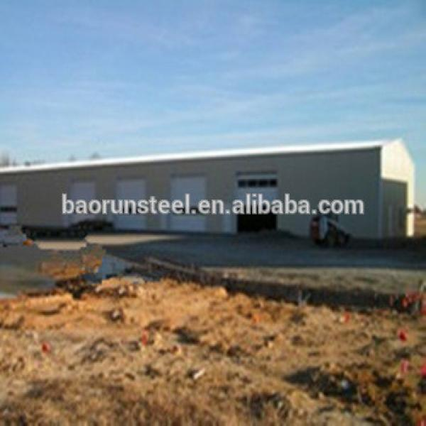 Portable galvanized steel structure prefabricated steel frame warehouse #1 image