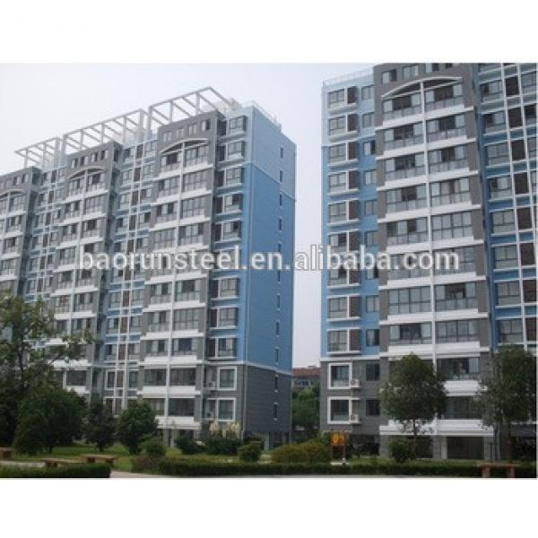 Pre-engineering high rise steel structure building for dormitory #1 image