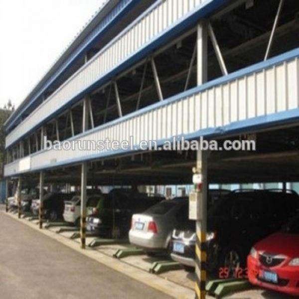building steel structure / steel carport #1 image