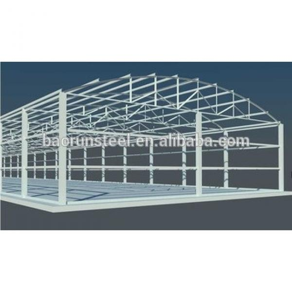 ISO light frame steel structure building prefabricated house #1 image