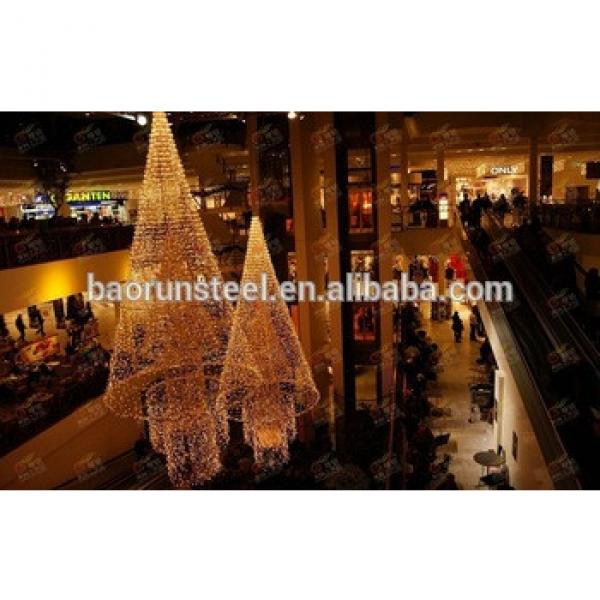 Prefabricated Light Steel Structure Building Shopping Mall #1 image