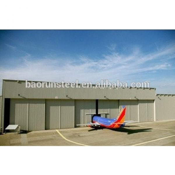 steel structure prefabricated aircraft hangar #1 image