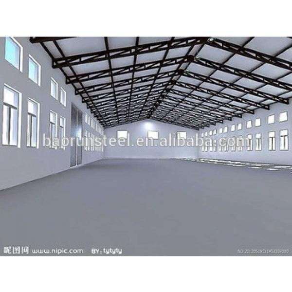 large space safety with lighting system steel structure workshop in Indonesia #1 image