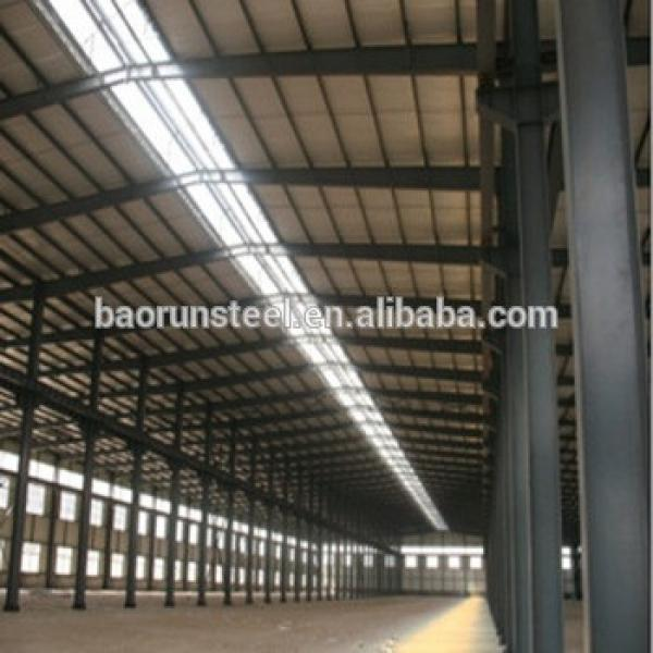 ISO&CE wide span light frame steel structure building prefabricated house #1 image