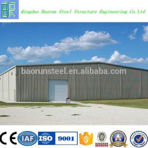 Baorun light steel structure prefabricated warehouse #1 image