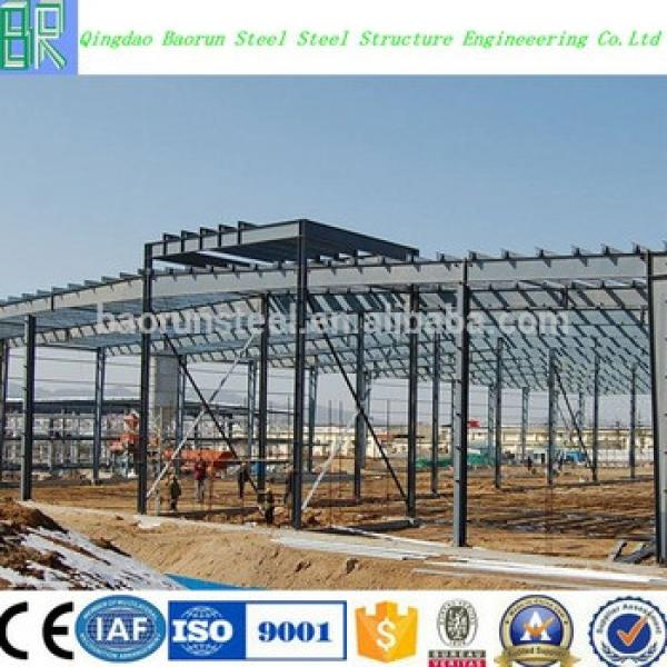 High quality galvanized steel structure prefabricated warehouse #1 image