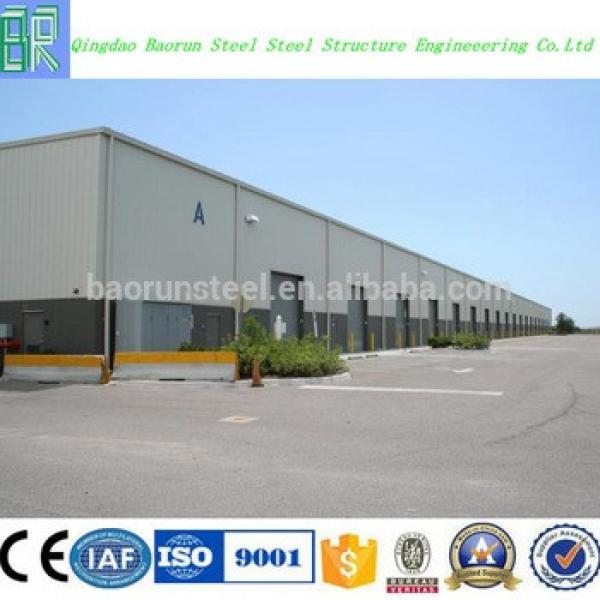 Prefab low cost factory workshop steel building #1 image
