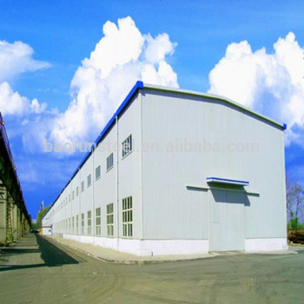 Light steel structure sandwich panel house prefabricated warehouse #1 image