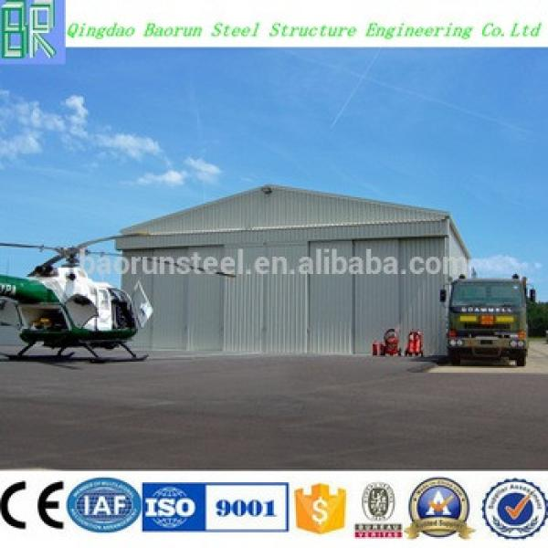 Low cost steel frame prefabricated hangar prices #1 image