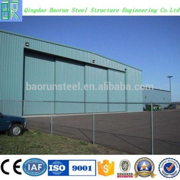 China manufacturer the low cost of building hangar #1 image