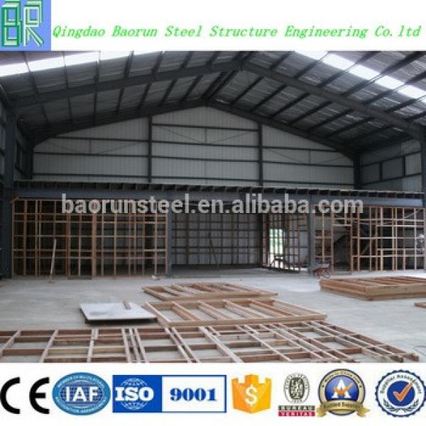 China Q235 Q345 Steel Prefabricated Structure Steel #1 image