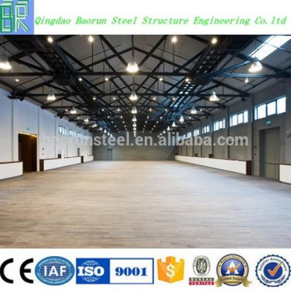 light frame steel structure building prefabricated barns #1 image