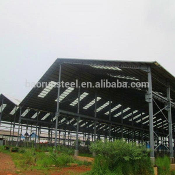 Steel frame barn prefab steel barn light steel barn #1 image