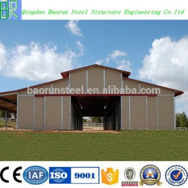 Steel frame Design Prefabricated horse barns #1 image