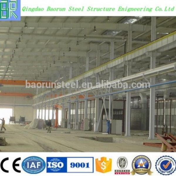 New design flat roof steel building #1 image