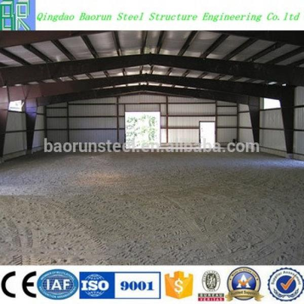 Prefab Steel Structure Cattle Farm Cow Shed Building #1 image