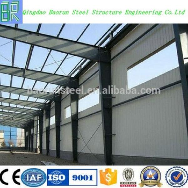 Made in china modern used steel structure warehouse #1 image