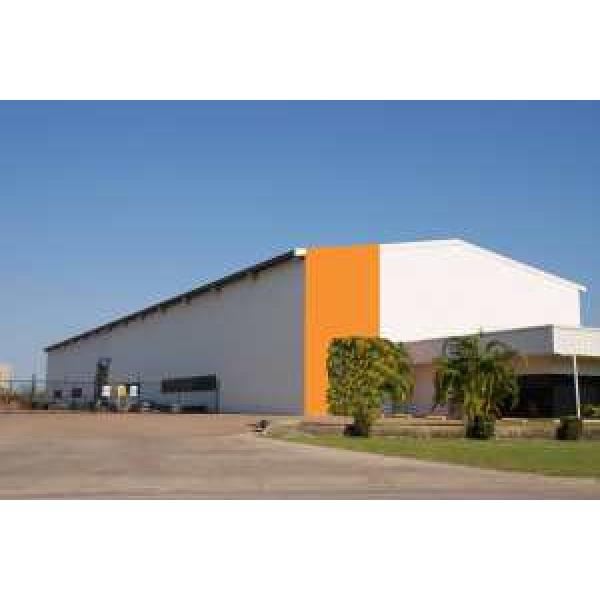 low cost prefabricated steel for warehouse #1 image