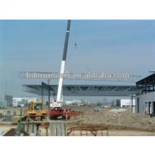 Prefab Steel Garage Building in China #1 image
