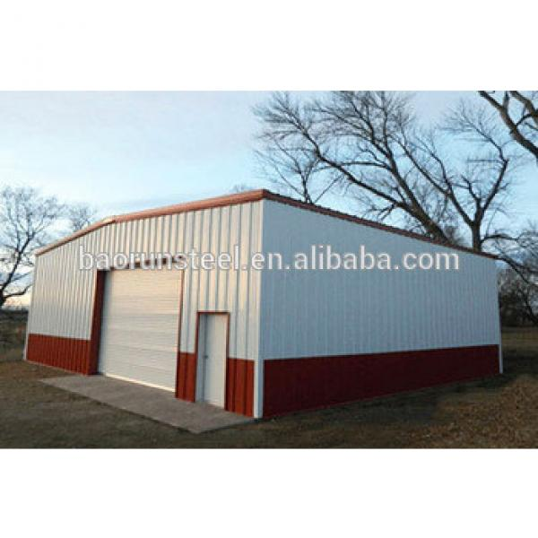 low cost steel warehouse with low roof slope #1 image