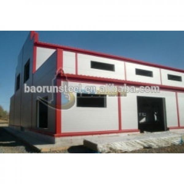 maintenance free prefabricated steel building made in China #1 image