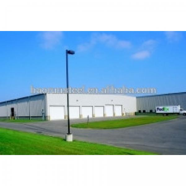 low price Prefab Steel Warehouse Building made from China #1 image