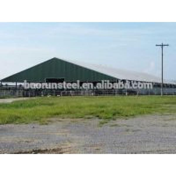 high quality Steel buildings with low roof slope #1 image